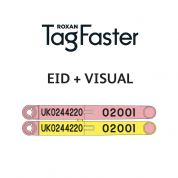 Replica TagFaster EID + VISUAL Pairs